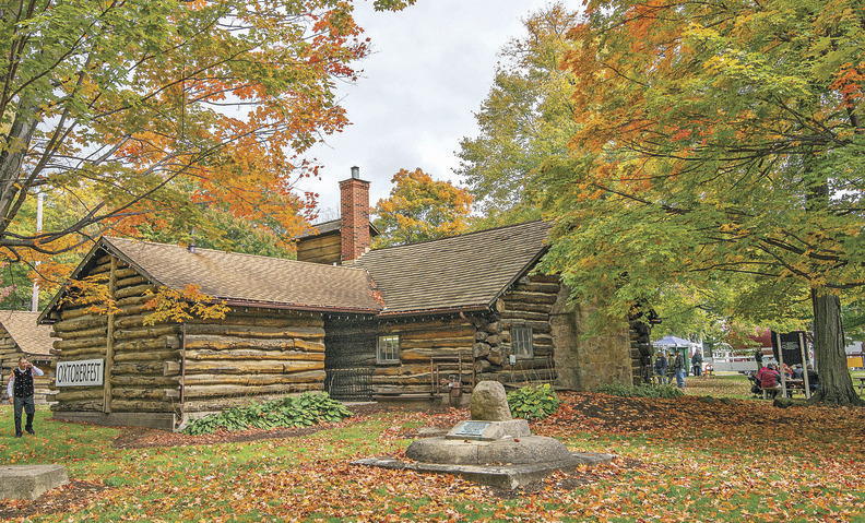 Tug of war continues over cabin geauga county maple leaf
