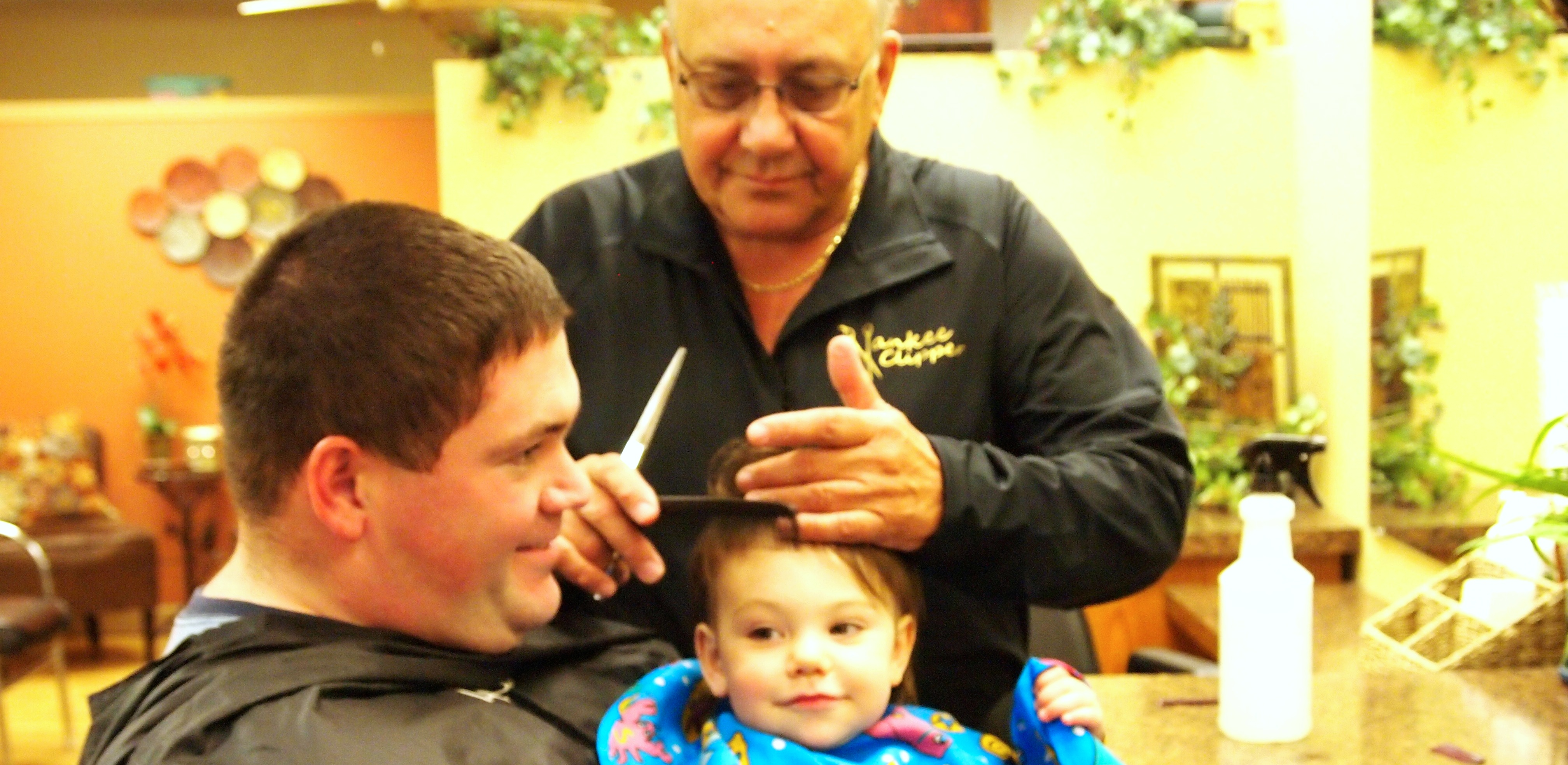 Longtime Barber Looks Back on Five Decades in Biz