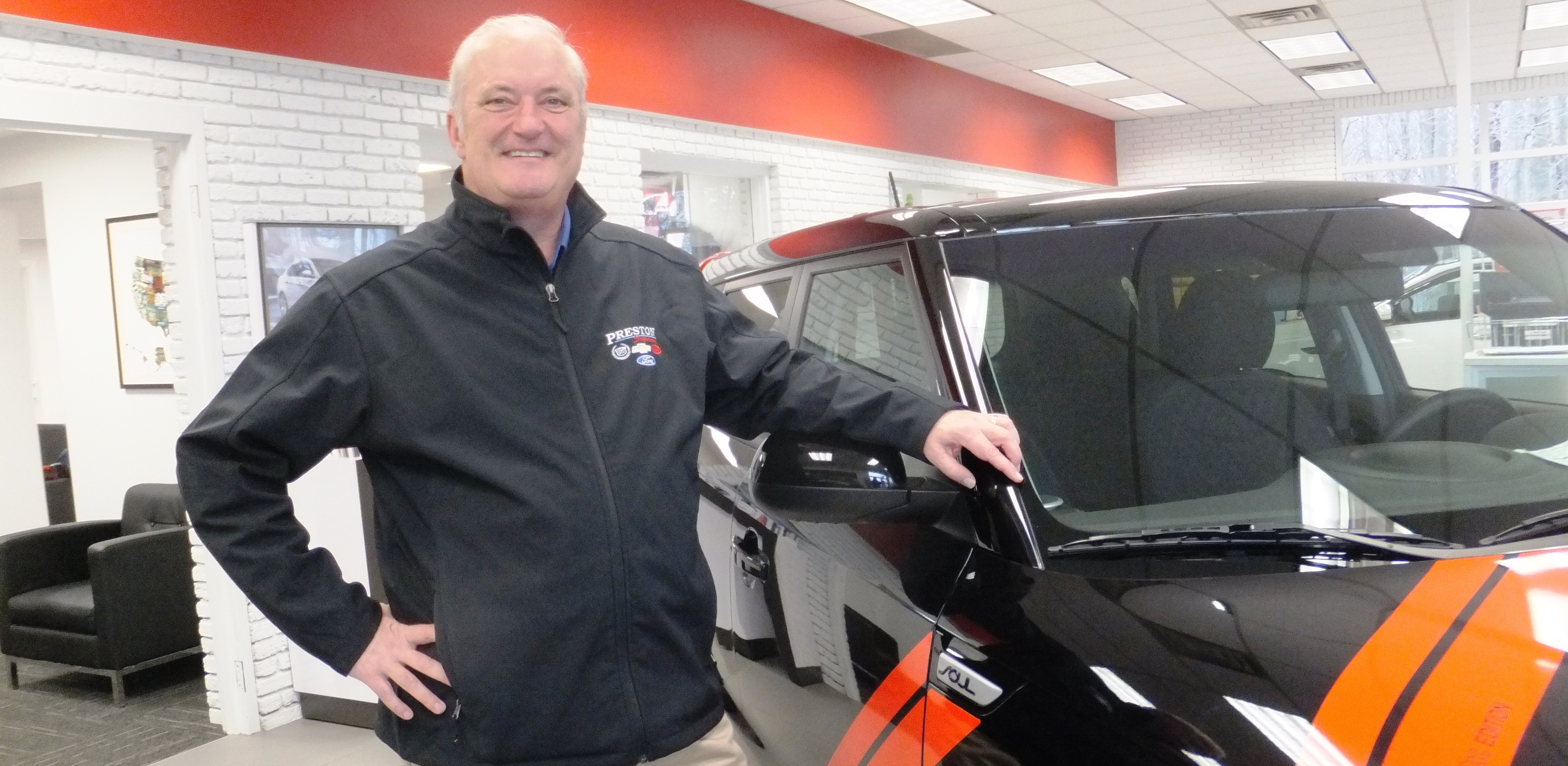 Pat preston s kia franchise shifts into high gear geauga for Franchise ad garage