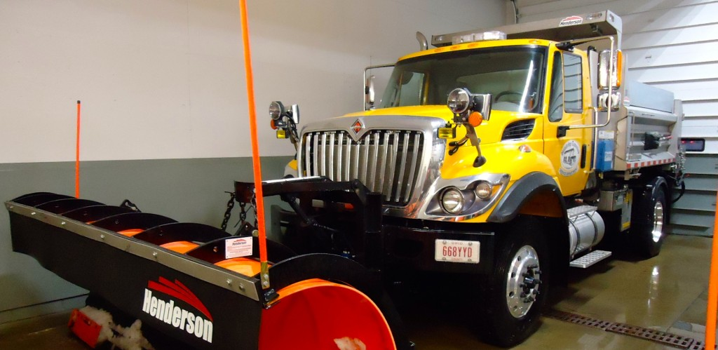 Snowplow to be featured at trade show geauga county maple leaf
