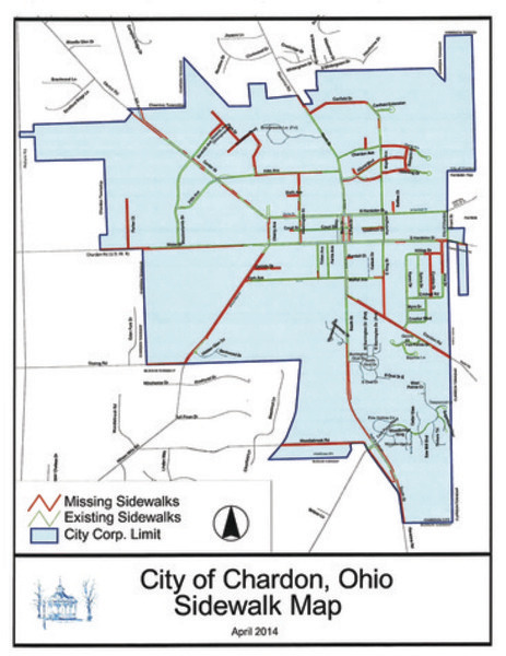 Chardon City Sidewalk Infill Assessment Reviewed Geauga County