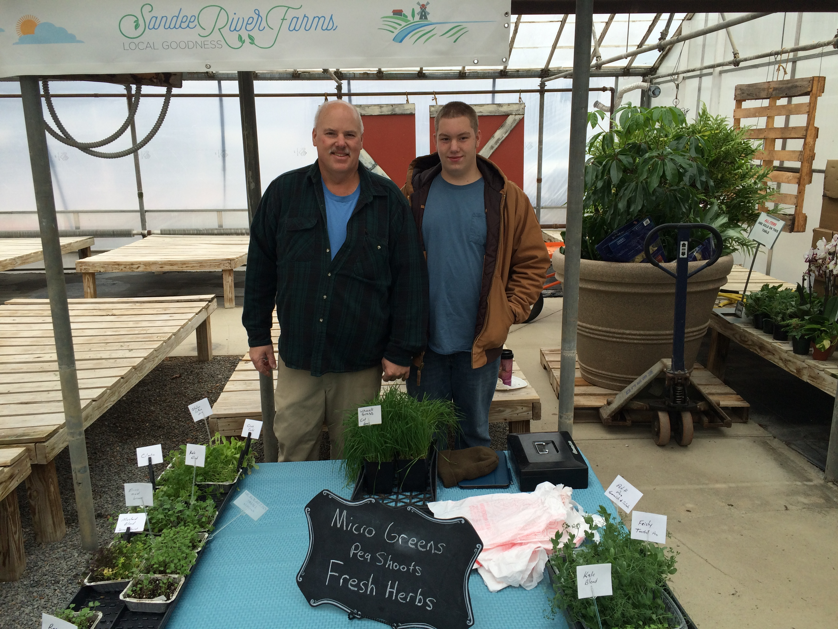 second annual winter market features fresh fare geauga county