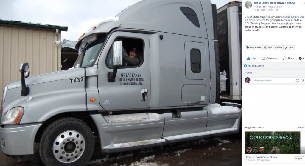 Chester Resident Welcomes Chance To Drive Truck Geauga County