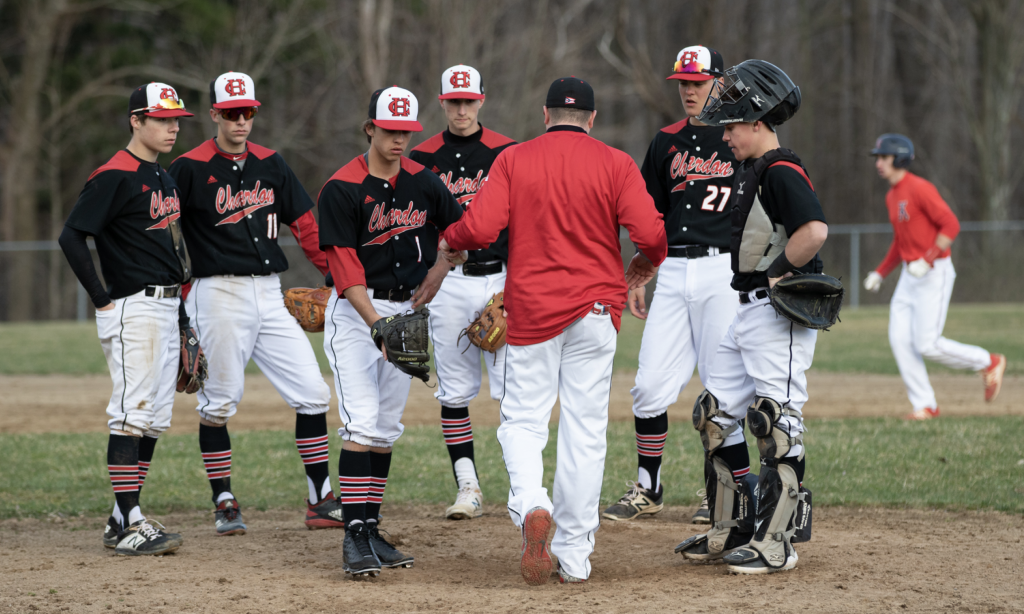 Chardon Kenston Split In Wrc Battles On Diamond Geauga County Maple Leaf